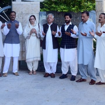 AJK University holds special prayer ceremony to remember quake victims